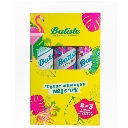 Batiste Набор Шампунь Сухой XXL Volume Spray + Original Clean & Classic + Sweetie Sugar & Fun