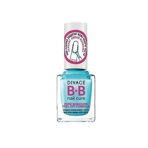 DIVAGE BB Nail Cure Pure Manicure Peel of Formula Защита Кожи Вокруг Ногтя