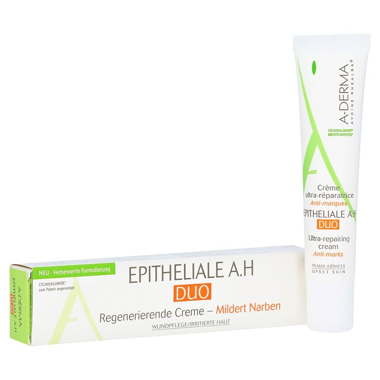 A-DERMA EPITHELIALE AH DUO Крем для Лица и Тела Восстанавливающий