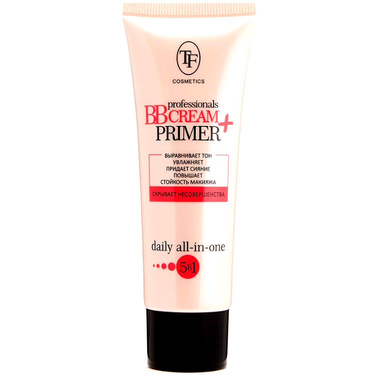 Triumf Крем Тональный Professionals BB Cream + Primer 5в1