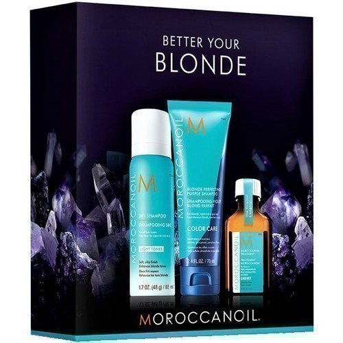 MOROCCANOIL BETTER YOUR BLOND Мини-Набор