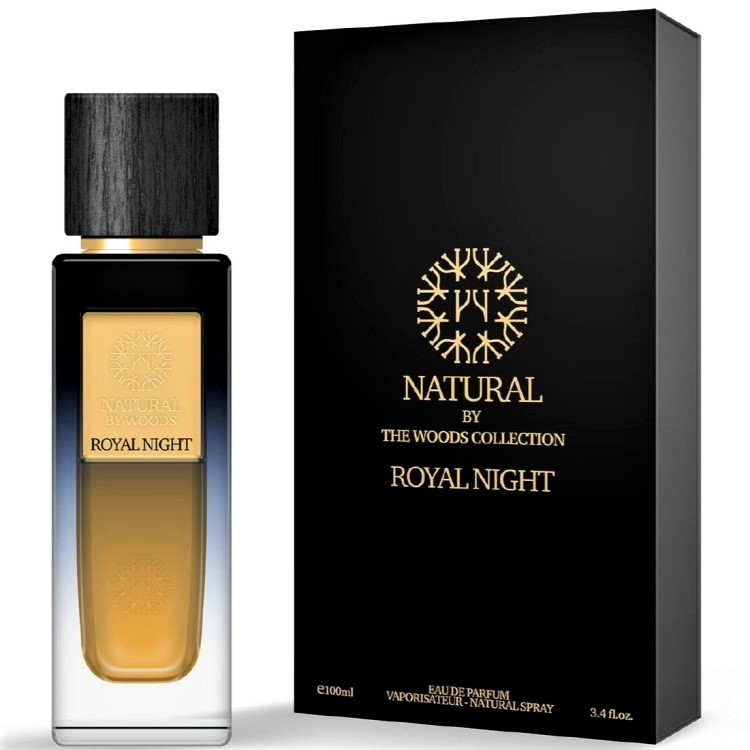 THE WOODS COLLECTION NATURAL ROYAL NIGHT